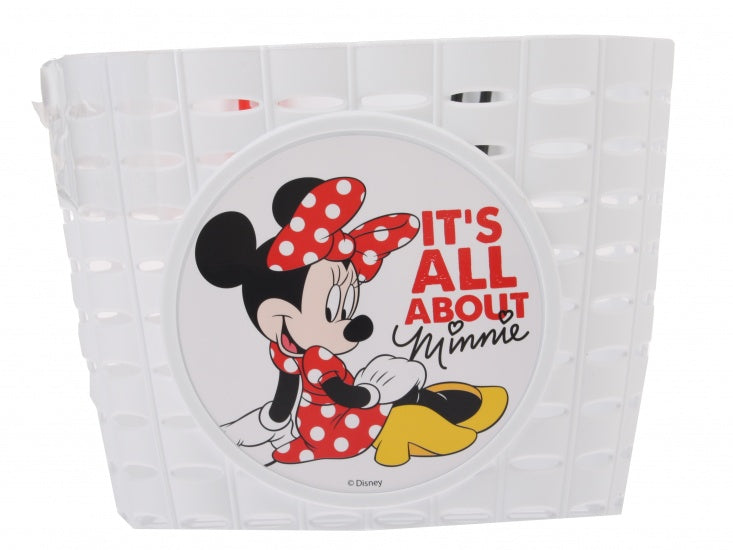 Children Cart PVC Minnie Mouse White