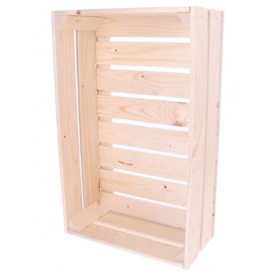 Bicycle Wooden Crate 32L