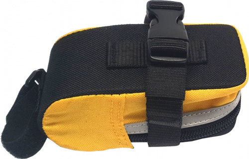 saddlebag 3M Scotchlite nylon yellow/black
