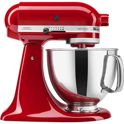 Stand Mixer - Batedeira Planetaria KitchenAid (Empire Red) - 110V