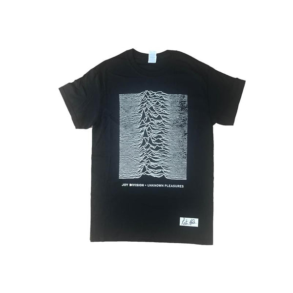 Unknown Pleasures Black Mens T-Shirt