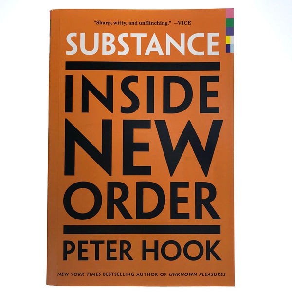 Peter Hook - Signed Substance Book (US Version)