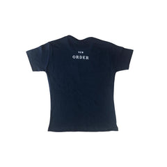 New Order True Faith Leaf Navy Kids T-Shirt