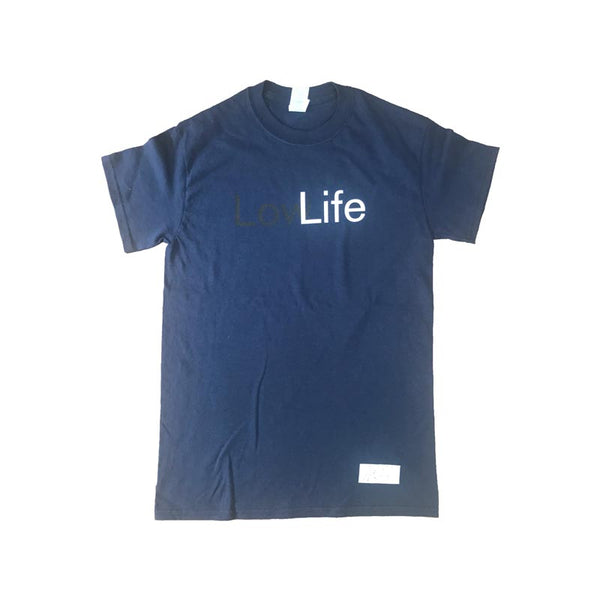 Signed Low Life Blue Mens T-Shirt