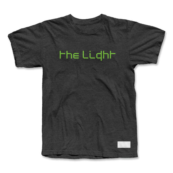 Signed 'The Light' Charcoal Tour Shirt