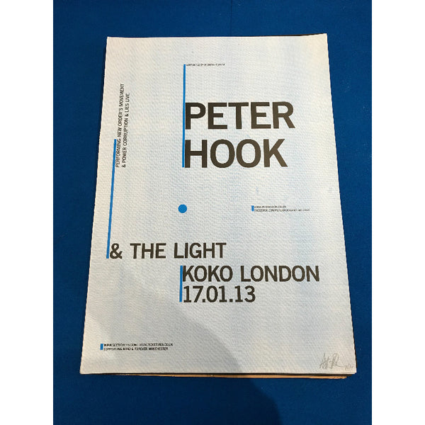 PH & TL Koko London Ltd /100 Signed Poster