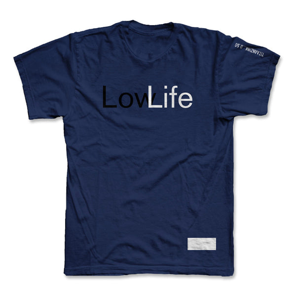 Signed 'LowLife' Navy Shirt