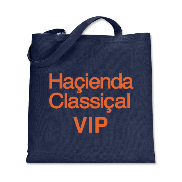 HACIENDA CLASSICAL VIP TOTE BAGS NAVY BLUE