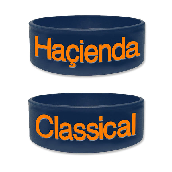 HACIENDA CLASSICAL WRISTBANDS (NAVY)