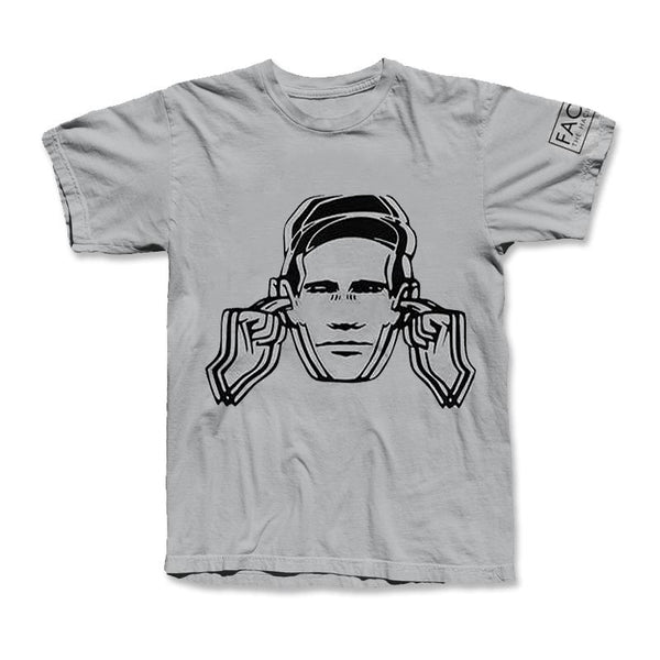 WEAR HEARING PROTECT T SHIRTS (MARL GREY)