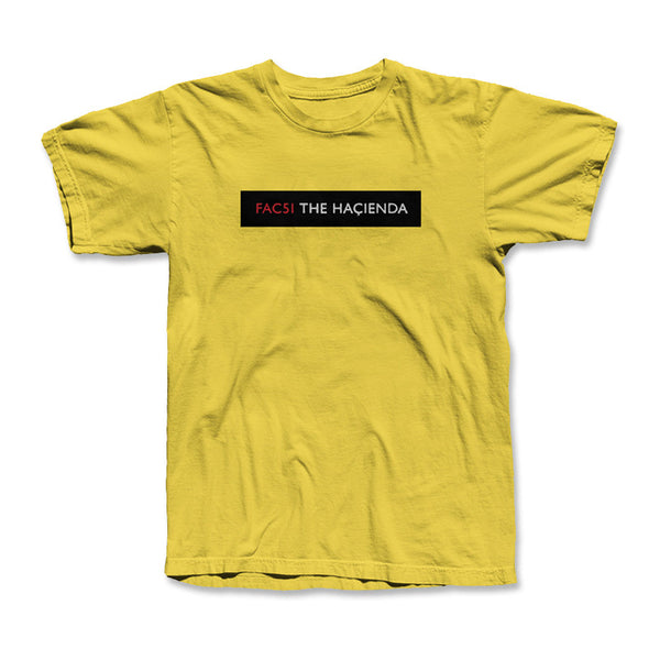 HACIENDA DOOR PLATE T SHIRTS (YELLOW)