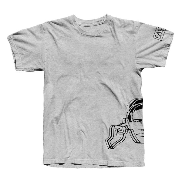 FAC51 HEARING PROTECT T-SHIRT GREY