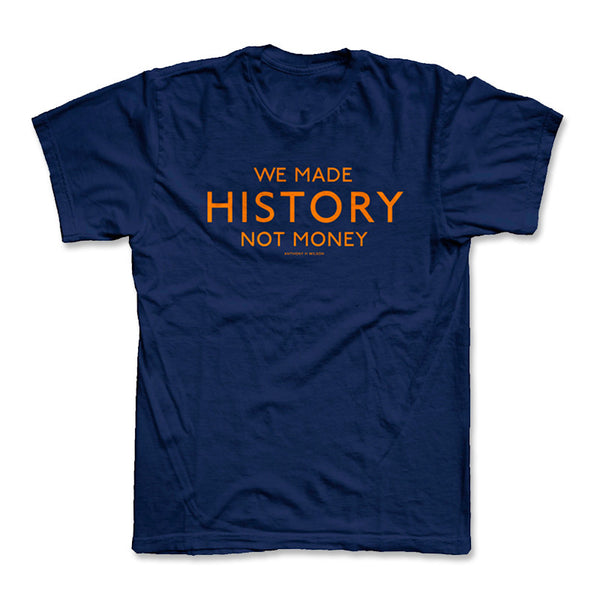 WE MADE HISTORY T (NAVY BLUE)