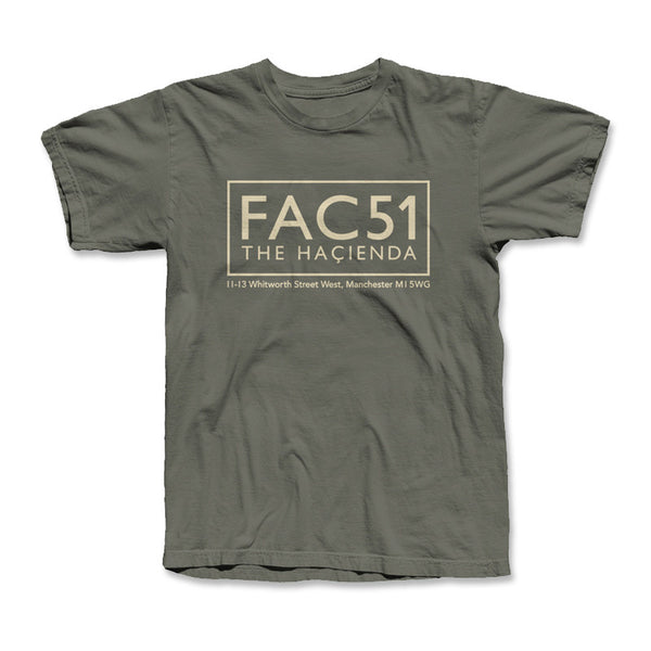 FAC 51 STAMP T SHIRTS (KHAKI GREEN)