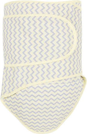 Miracle Blanket-  Yellow and Grey Zig-Zag Design