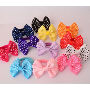 Adorable Ponytail Hair Ropes - 10Pcs-Mommy's Store