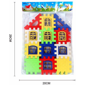 House Building Blocks 24 Pcs-Mommy's Store