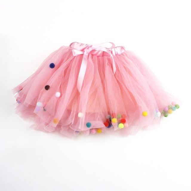 KASSANDRA - Tutu Skirt With Little Balls-Mommy's Store