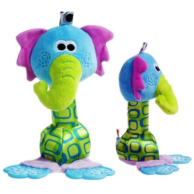 Mr. Big Nose - Colourful Baby Rattles-Mommy's Store