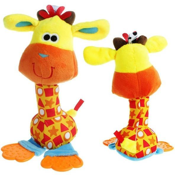 MR. GIRAFFE - COLOURFUL BABY RATTLES-Mommy's Store