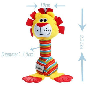 Mr. Lion - Colourful Baby Rattles-Mommy's Store
