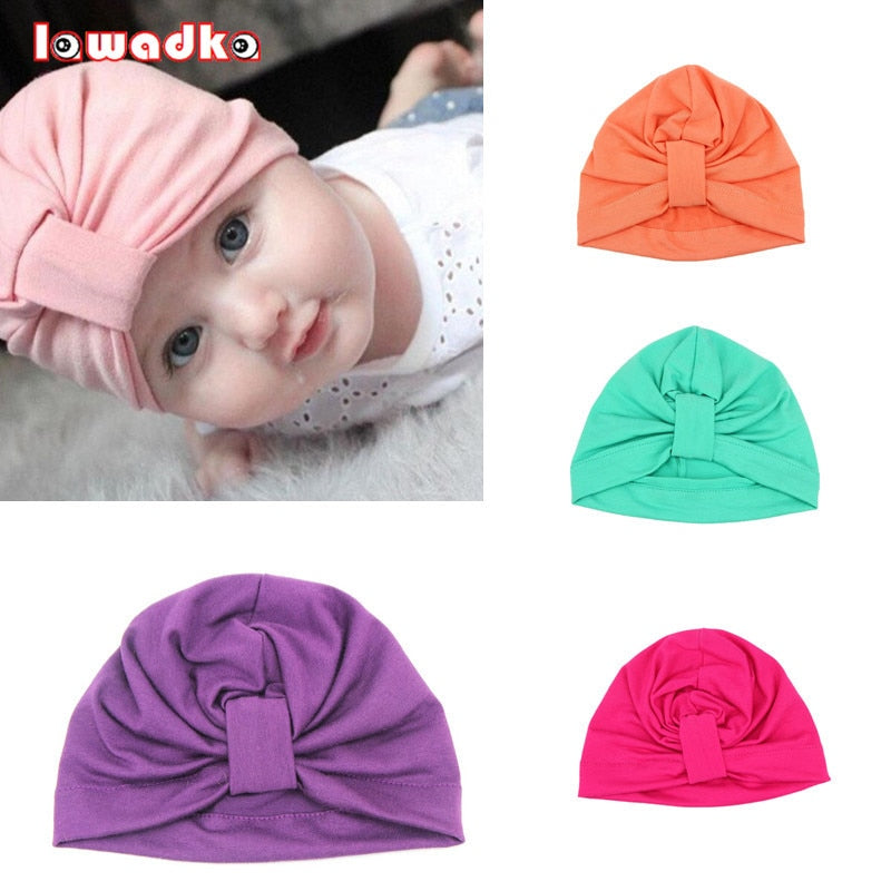 2e8074c50 Baby Hat Children Baby Caps Cotton Unisex Girls Boys Hats Newborn  Photography Props Candy Color Beanies