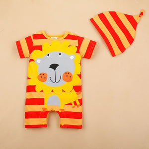 3-12 Month Bunny Romper