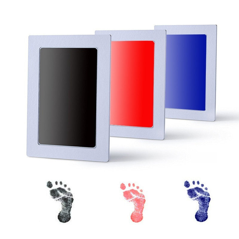 Baby Handprint and Footprint with Pollutant Free Ink Baby's Souvenir