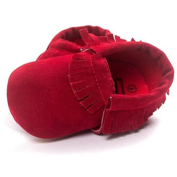 Suede Non-slip Moccasins-Mommy's Store