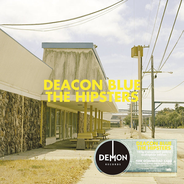 DEACON BLUE - THE HIPSTERS (TRANSPARENT YELLOW LP)