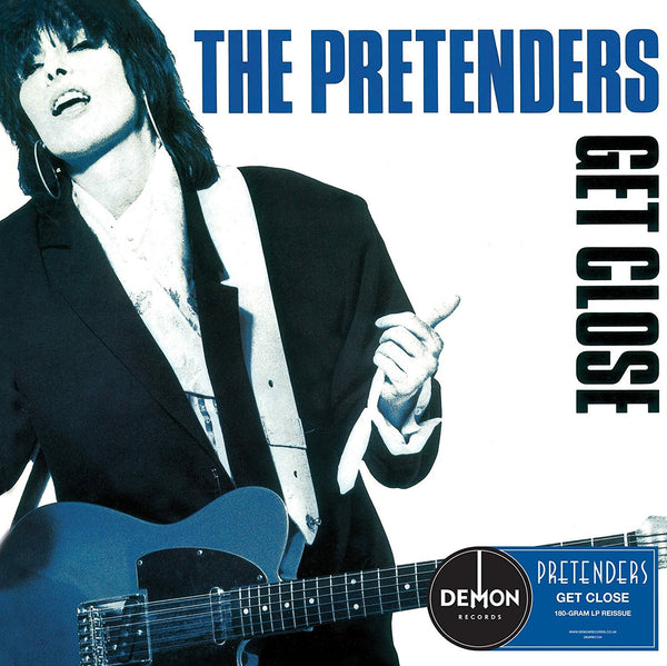 THE PRETENDERS - GET CLOSE (LP)