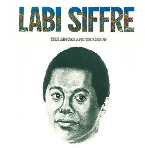 LABI SIFFRE - THE SINGER AND THE SONG (LP)