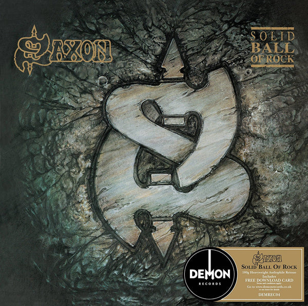 SAXON - SOLID BALL OF ROCK (LP)