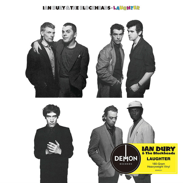 IAN DURY AND THE BLOCKHEADS - LAUGHTER (LP)