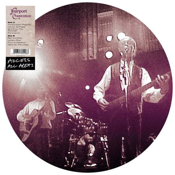 FAIRPORT CONVENTION - ACCESS ALL AREAS (PICTURE DISC LP)