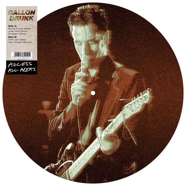 GALLON DRUNK - ACCESS ALL AREAS (PICTURE DISC LP)