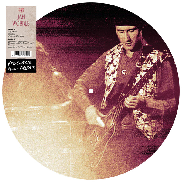 JAH WOBBLE - ACCESS ALL AREAS (PICTURE DISC LP)