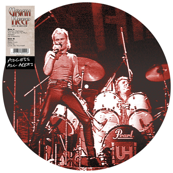 URIAH HEEP - ACCESS ALL AREAS (PICTURE DISC LP)