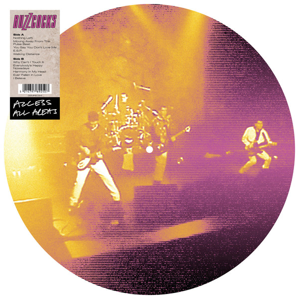 BUZZCOCKS - ACCESS ALL AREAS - LIVE 1990 (PICTURE DISC LP)