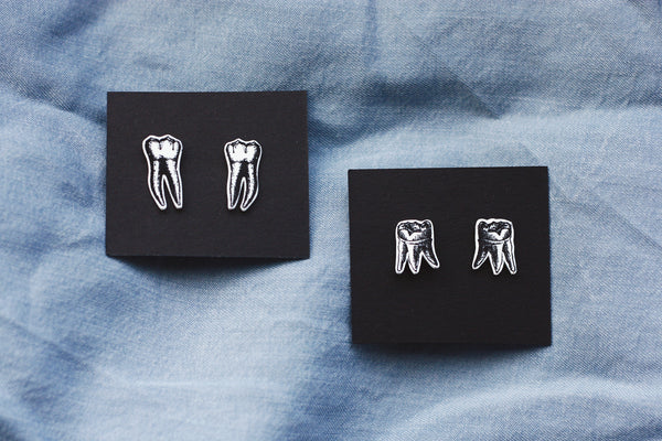 Teeth Earrings