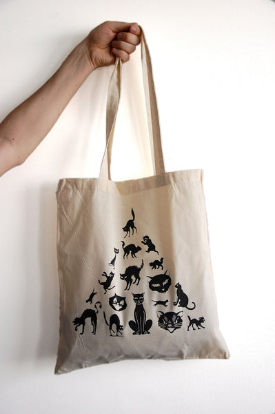 Black Cats Tote