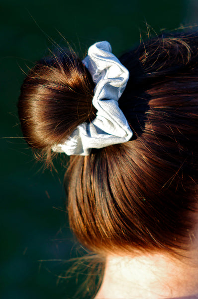 Teeth Scrunchie Gray
