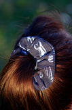 Teeth Scrunchie Blue