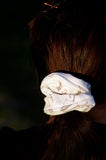 Teeth Scrunchie White