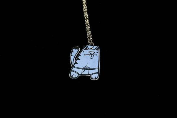 Undie Cat Necklace