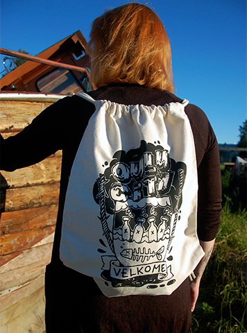 Oulu City Backpack