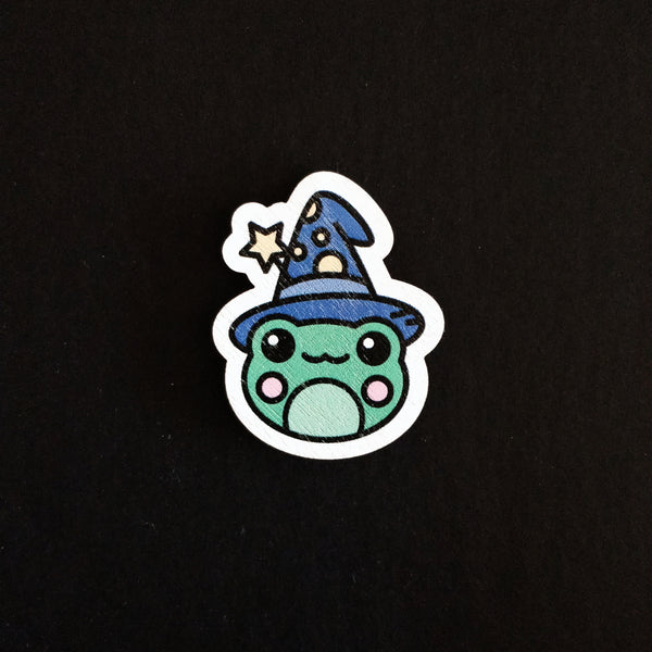 Wizard Frog Pin