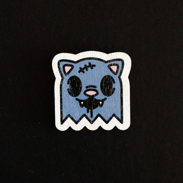 Zombie Kitty Pin