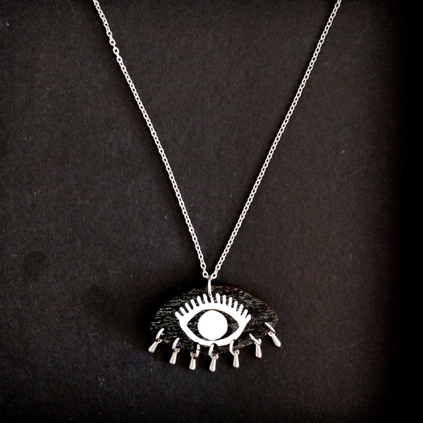 Eye Of The Tiger Necklace Black