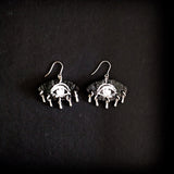 Starry Eyes Earrings Black
